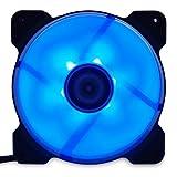 サイズオリジナル カラーLED搭載 120mm PWMファン AYA-KAZE 彩風 ブルーモデル