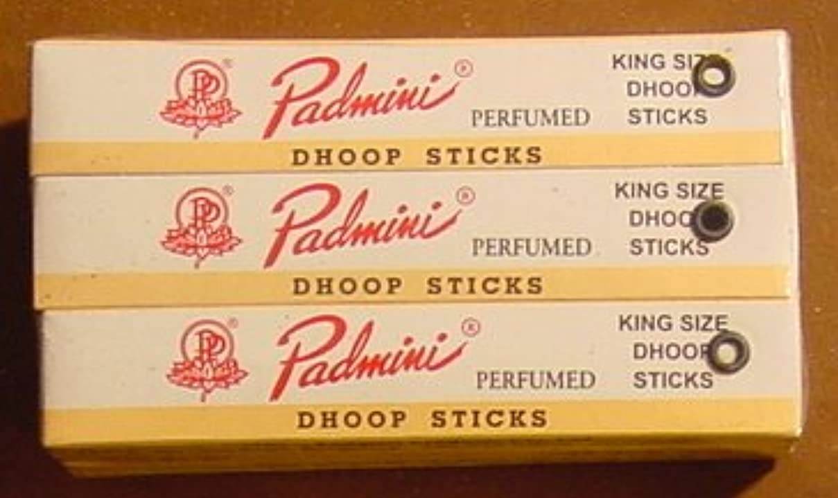 お客様うなずく盲目Padmini Dhoop Sticks – 12ボックスの10 Sticks各 – 5