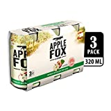 Apple Fox Cider Can, 320ml (Pack of 3)