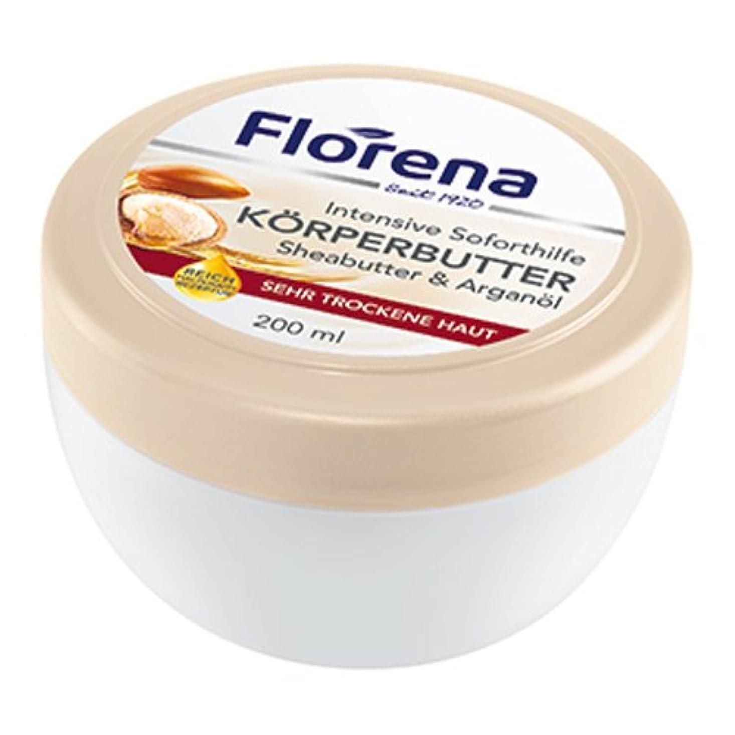 バイアス蜜穿孔するフロレナ フロレナ ボディバター 200ml