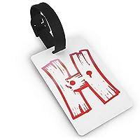 RIRIBOC 荷物タグH スーツケース ネームタグ 荷物 タブ ネームホルダー 番号札 - カラフルOne Size 紛失防止 スーツケースタグ 出張 旅行用 カバン装飾 色やスタイルの様々なRIRIBOC