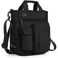 AMJ Small Shoulder Messenger Bag,Crossbody Business Laptop Multifunctional Pocket Bags for Travel School Work Men Women