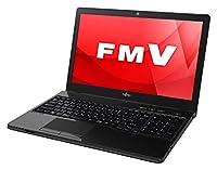 富士通 ノートパソコン FMV LIFEBOOK AHシリーズ WA1/A3(Windows 10 Home/15.6型ワイド液晶/AMD A8/8GBメモリ/約1TB HDD/Office Home and Business Premium/シャイニーブラック)AZ_WA1A3_Z304/富士通直販WEBMART専用モデル