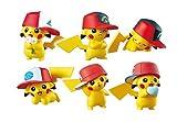 ポケモンセンター フィギュアコレクション 帽子をかぶったピカチュウ 全6種セット Pikachu Album Collection