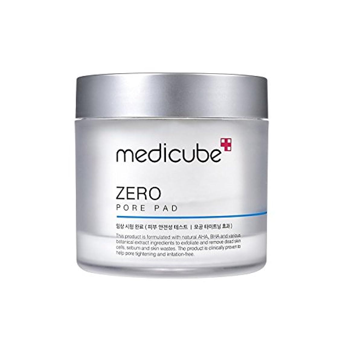 ハム勇敢なとにかく[Medicube]Zero Pore Pad / ゼロ毛穴パッド / 正品?海外直送商品 [並行輸入品]