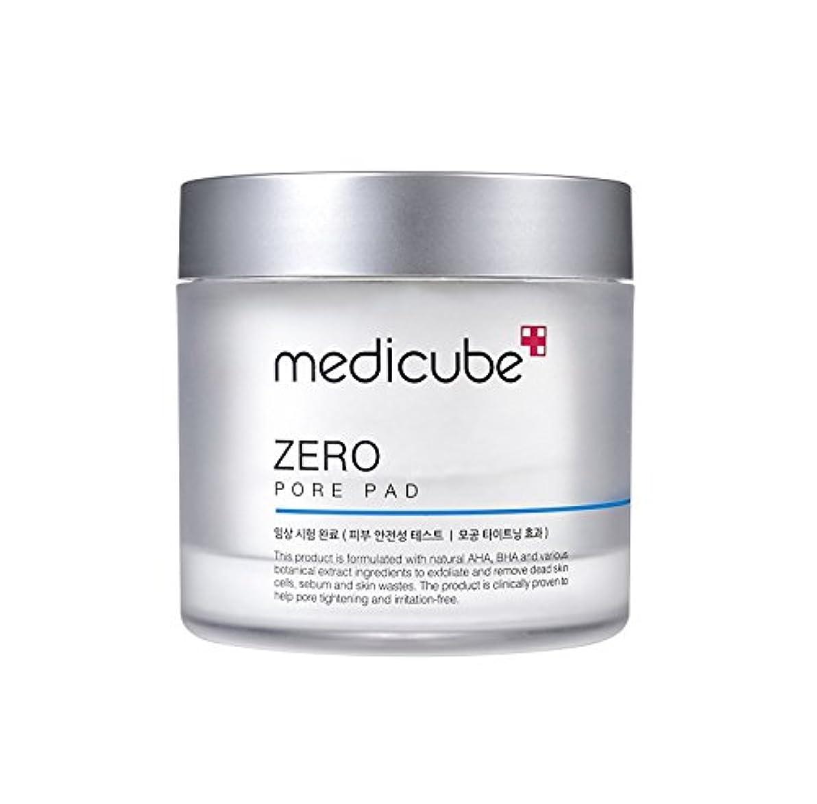 危機パケット猫背[Medicube]Zero Pore Pad / ゼロ毛穴パッド / 正品?海外直送商品 [並行輸入品]