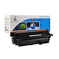 TRUE IMAGE Compatible Ink Cartridge Replacement for HP CE252A (Yellow) 【Creative Arts】 [並行輸入品]