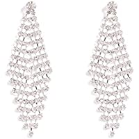 Colette Hayman - Solitaire Diamante Teardrop Earrings