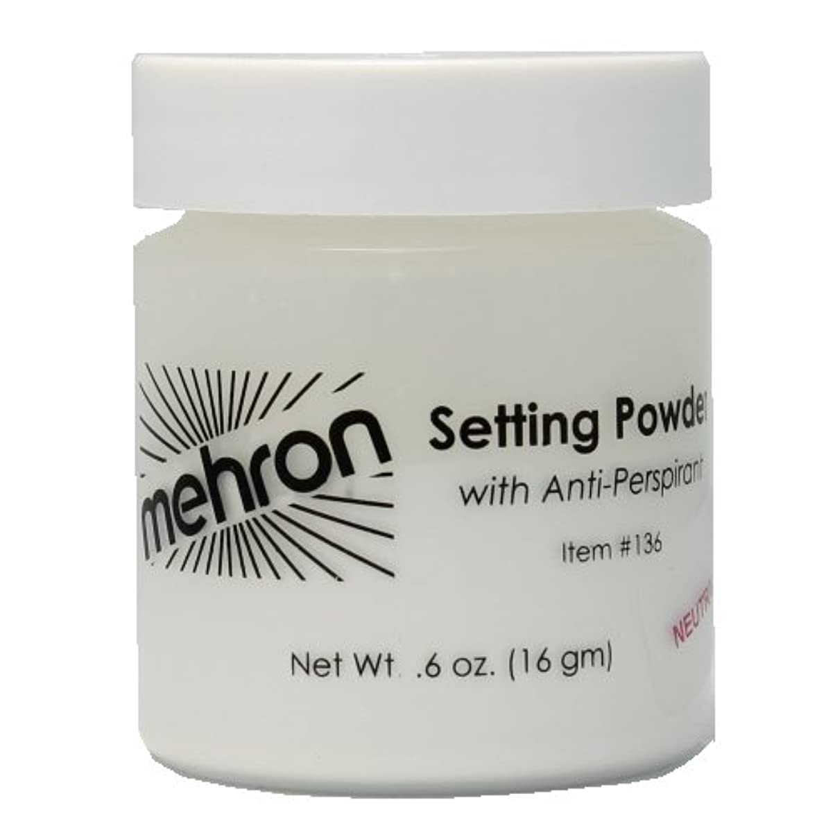 までカートゴミ(6 Pack) mehron UltraFine Setting Powder with Anti-Perspriant - Neutral (並行輸入品)