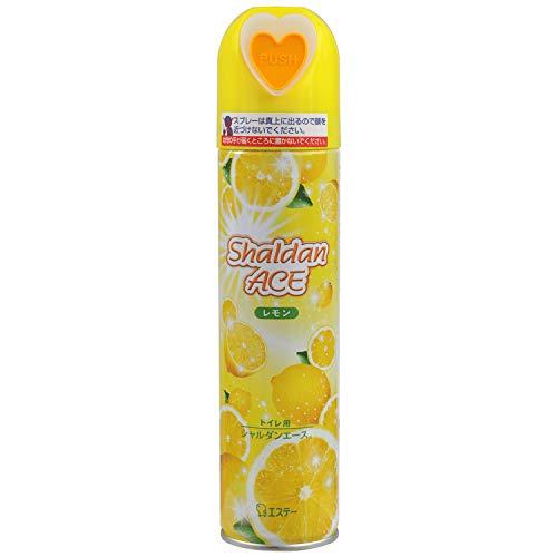 シャルダンエース トイレ用 スプレー 消臭芳香剤 レモンの香り 230mL