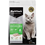 Black Hawk Dry Cat Food, Chicken, 8kg