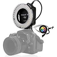 【 Aputure Amaran LED 100球 リングライト HN100 】 Nikon デジタル一眼レフカメラ対応 オートマクロストロボ