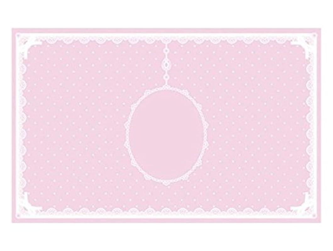 チャレンジ部族発行シリコンマット(表面コート)ピンク