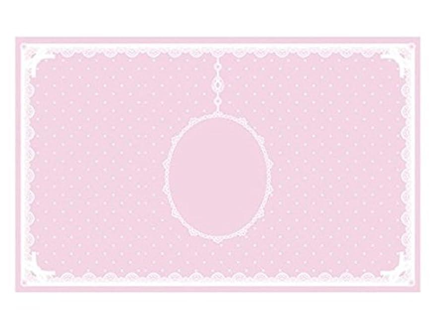 閉塞バッジ十分ではないシリコンマット(表面コート)ピンク