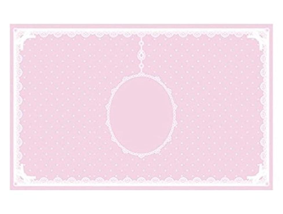 メッシュ原点賞賛シリコンマット(表面コート)ピンク