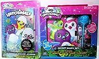 Girls/Teen Secret Diary Set and Scratch & Sticker Journal bundle Hatchimals Toys