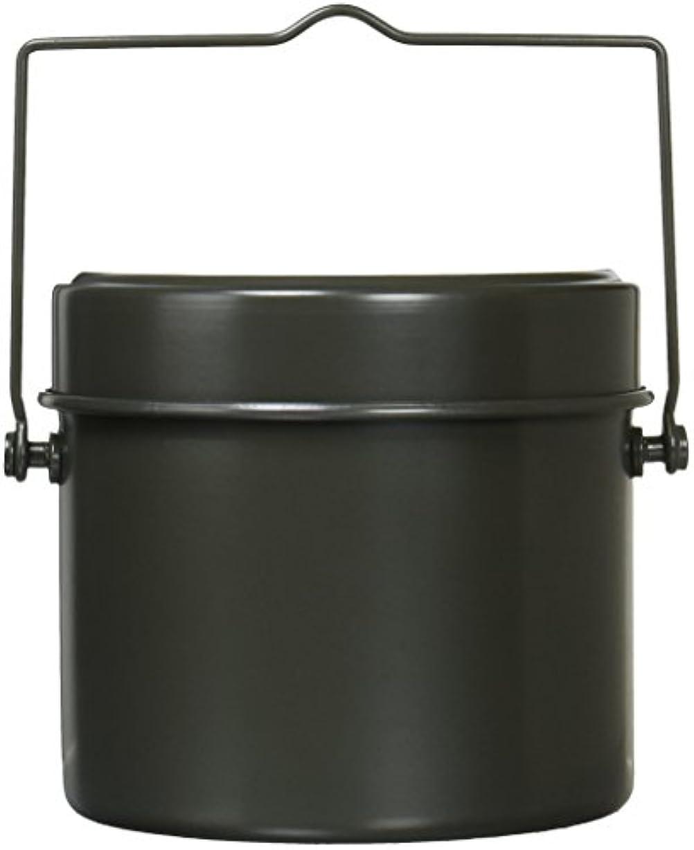 あざ最大の粉砕するキャプテンスタッグ(CAPTAIN STAG) バーベキュー BBQ用 炊飯器 林間丸型ハンゴー 4合炊きM-5546