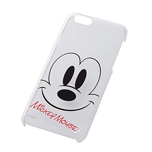 レイ・アウト iPhone6 (4.7インチ)用 ディズニー・クローズアップ・シェルジャケット ミッキーマウス RT-DP7K/MK