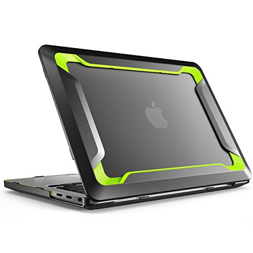i-Blason 耐衝撃 Dual Layer Protective Case (MacBook Pro 15-inch 2016, Green) 日本正規総代理店