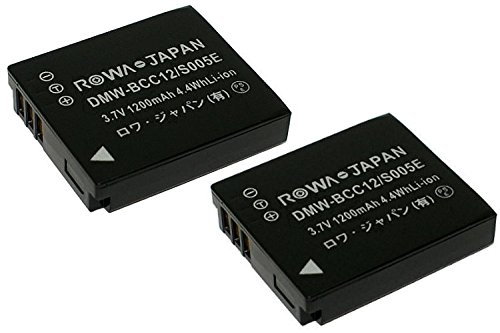 実容量高2個セット RICOH リコー Caplio GR G600 G700 GX200 R3 R4 R5 の DB-60 DB-65 互換 バッテリーロワジャパン