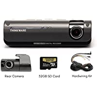 THINKWARE F770 2-Channel Dash Cam | Front and Rear | 1080P HD Dash Cam with Sony Exmor Sensor + Built-in WiFi + Super Night Vision - 32GB SD Card | Hardwiring Kit Included [並行輸入品]