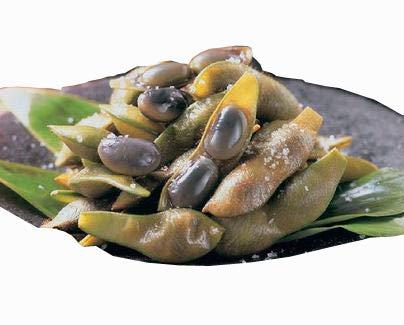 塩ゆで済み 黒豆枝豆 500g (nh332754)【冷凍野菜】