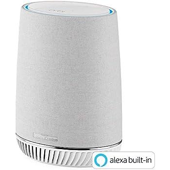 NETGEAR Alexa搭載メッシュWi-Fi 追加用サテライト Orbi Voice 速度AC3000 接続台数30台 Alexa搭載 Harman Kardon製高性能スマートスピーカー RBS40V-100JPS