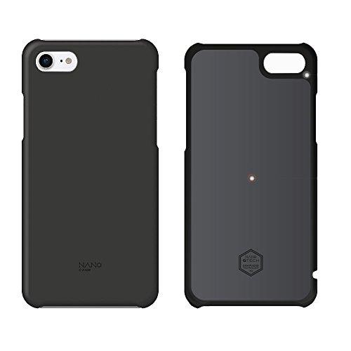 北欧ブランド Shield Patrol(シールドパトロール) NanoCase(ナノケース) iPhone 8専用 最大20% バッテリーを長持ち (NC0 1-i8-OPBK) 黒 (正規代理店) 放熱 発熱対策 ナノグラフェン素材