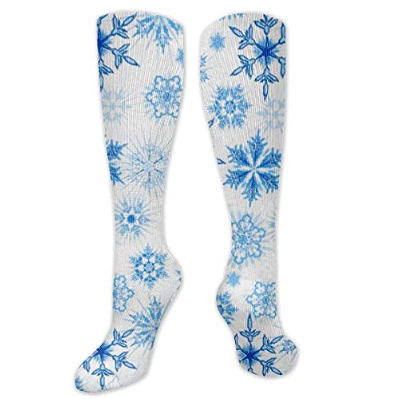 メールゲインセイご近所靴下,ストッキング,野生のジョーカー,実際,秋の本質,冬必須,サマーウェア&RBXAA Winter Frost Glitter Snowflakes Socks Women's Winter Cotton Long Tube...