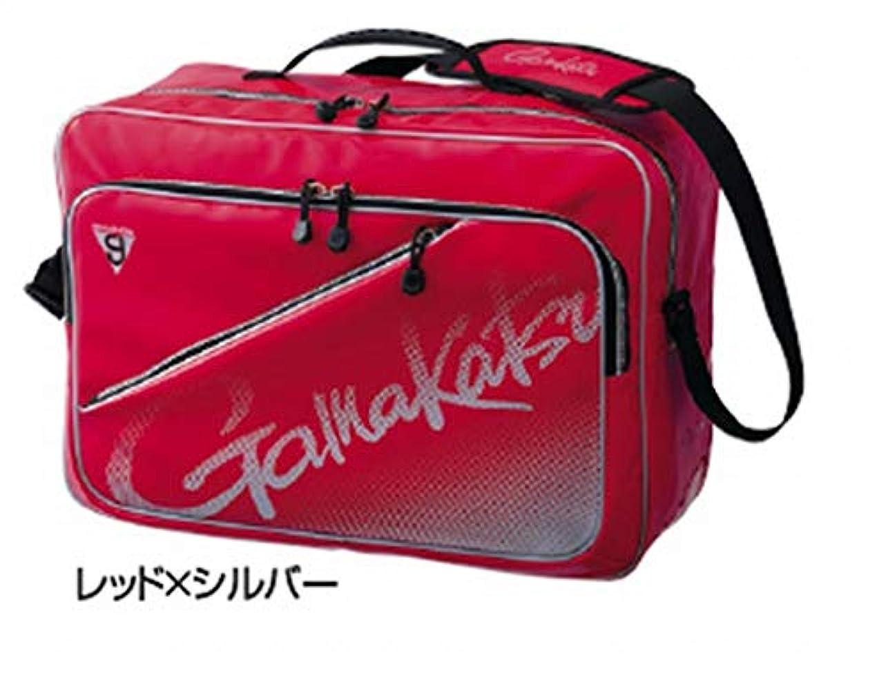 本優勢関係がまかつ(Gamakatsu) 3WAYバッグ レッド/シルバー GM3580 レッド/シルバー