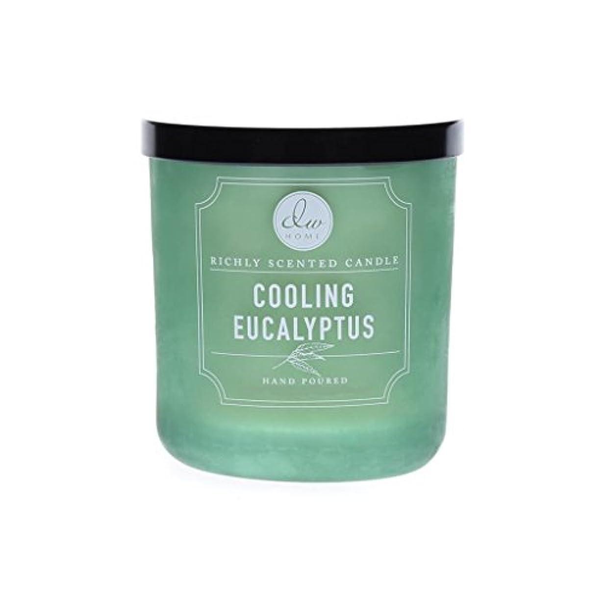ボンド作動する放棄するDWホーム冷却ユーカリ豊かな香りCandle Small Single Wick Hand Poure。。。