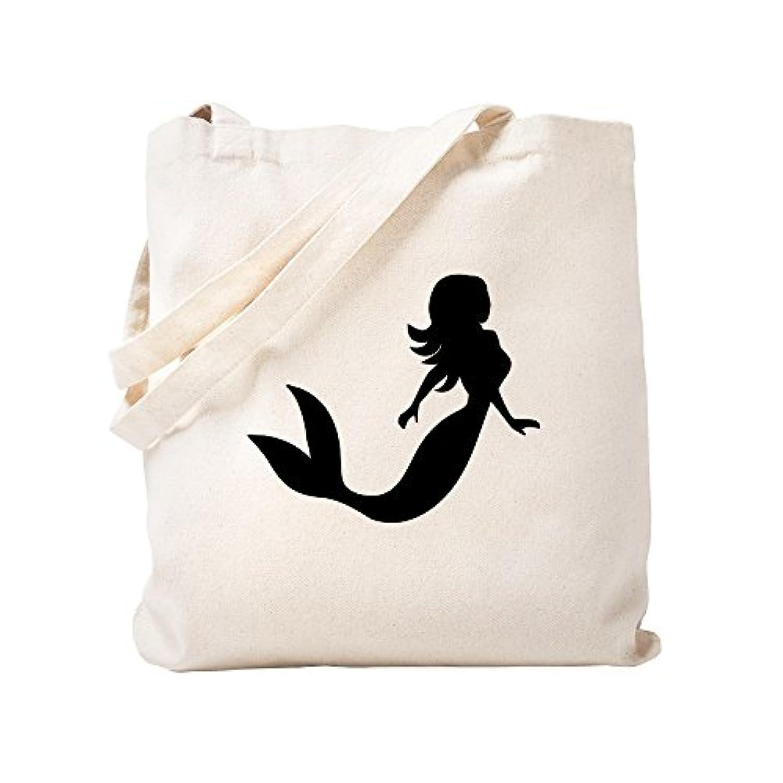 CafePress – マーメイド – ナチュラルキャンバストートバッグ、布ショッピングバッグ S ベージュ 0675918281DECC2