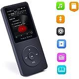 【Newiy Start】APE/AAC/OGG/MP3/WMA/AMV/AVI プレーヤー HIFI 高音質 音楽 再生 ロスレスサウンド MP3 プレーヤー スピーカー搭載(容量8GB マイクロSDカード32GB)【日本語取説書と1年間保証書付き】