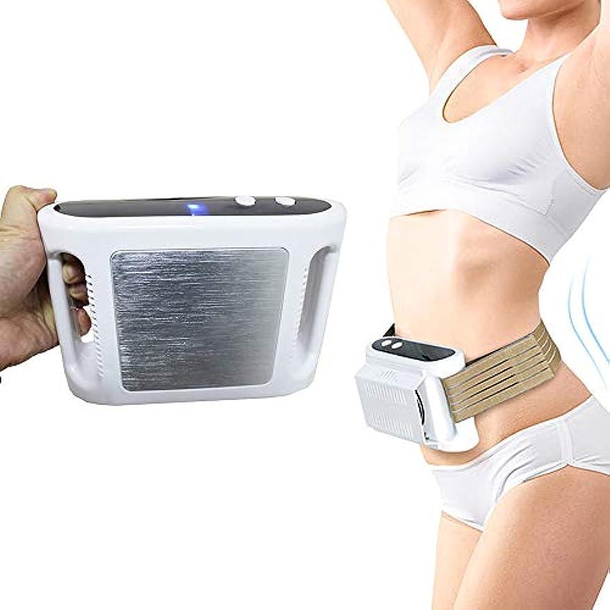 安全なスチュワードガイダンス脂肪凍結機ボディ痩身減量デバイス脂肪風邪療法抗セルライトマッサージトレーナーベルトホーム使用