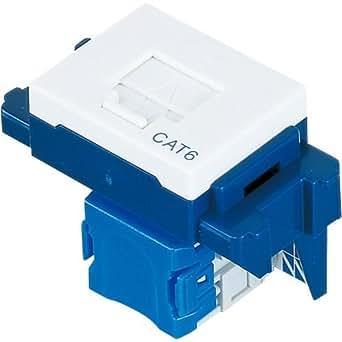 パナソニック(Panasonic) ぐっとす情報モジュラジャックLAN表示付 CAT6 ホワイト NR3170W