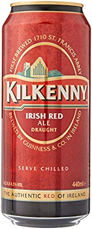 Kilkenny Irish Ale Beer Can, 440ml (Pack of 4)