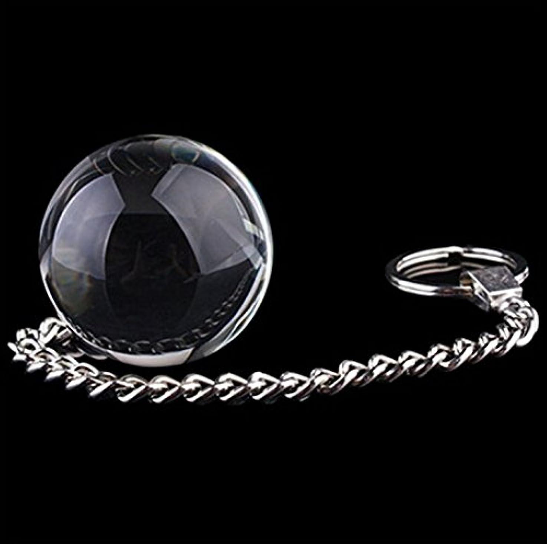 光沢のある文献ローストクリスタルガラスマジックマッサージボール
