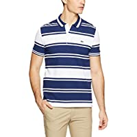 Lacoste Men's Block Stripe Polo