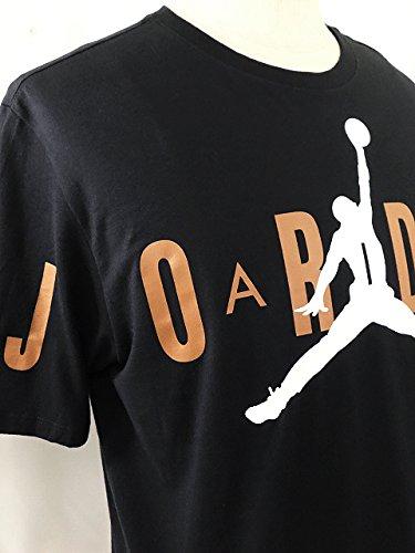 (Jordan)ジョーダン Jordan Stretched Tシャツ (XXL, 黒白茶色) [並行輸入品]