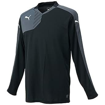 (プーマ)PUMA サッカー BTS トレーニング長袖Tシャツ WARM 654687 [メンズ] 01 ブラック S