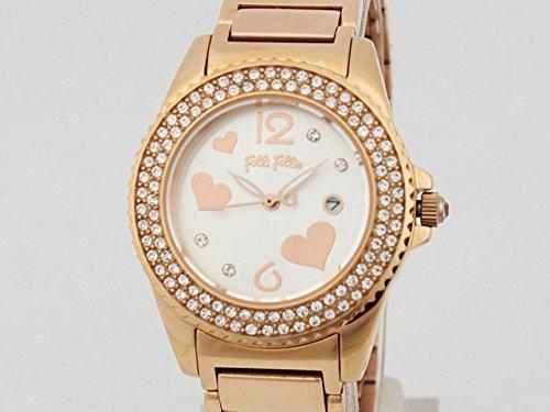 フォリフォリ FOLLI FOLLIE 腕時計 WF9B049BTS ピンクゴールド [並行輸入品]