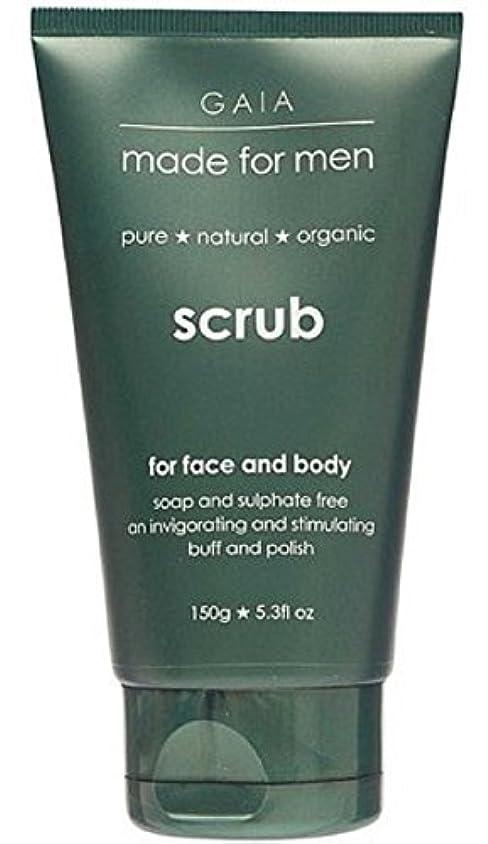ために普及確率【GAIA】Face & Body Scrub made for men ガイア メンズ フェイス&ボディスクラブ 150g
