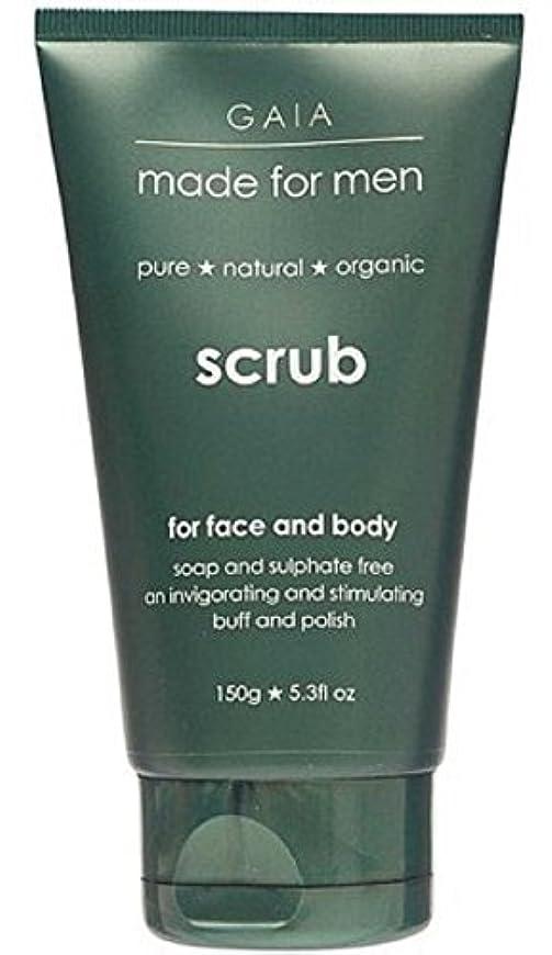 ただ引き金入り口【GAIA】Face & Body Scrub made for men ガイア メンズ フェイス&ボディスクラブ 150g