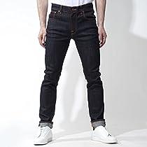 (ヌーディージーンズ) nudie jeans co ストレッチジーンズ 32サイズ THIN FINN [並行輸入品]