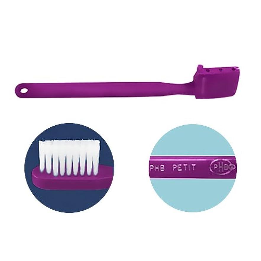 決めます唯一体現するPHB 歯ブラシ プチサイズ 1本 ネオンパープル