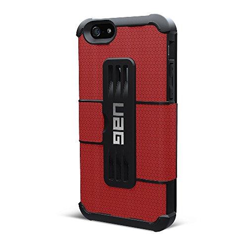 【日本正規代理店品】URBAN ARMOR GEAR iPhone 6 (4.7インチ)用フォリオケース レッド UAG-IPH6F2-RED