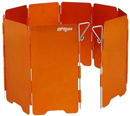EPIガス(EPIgas) ウインドシールド ショート A-6507 オレンジ キャンプ用品 ストーブ 風よけ(Men'sLady's)
