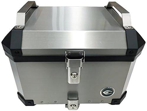 COOCASE(クーケース)リアボックス 40L シルバー アルミトップケース CCX100S