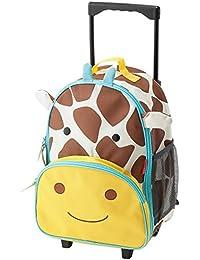 SKIP HOP スキップホップ ズー アニマル ローリング ラッゲージ スーツケース キャリーケース (Giraffe) 212311 [並行輸入品]