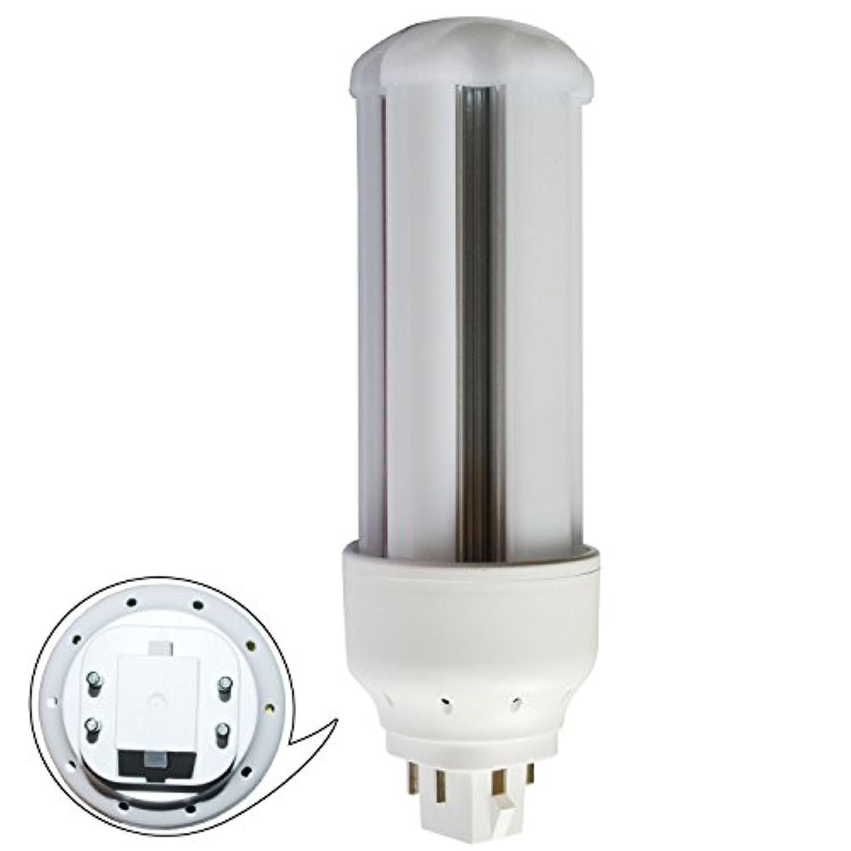 超高輝度FHT42EX型 LEDコンパクト蛍光灯 ツイン蛍光灯 FHT42EX-L 16W 170lm/w 50000H GX24Q口金兼用 グロー式工事不要(全工事不要ではない) 無騒音 チラツキなし 輻射なし 2年保証 (電球色3000k)